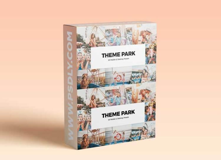 CreativeMarket - 20 Theme Park Lightroom Presets & LUTs 6086209