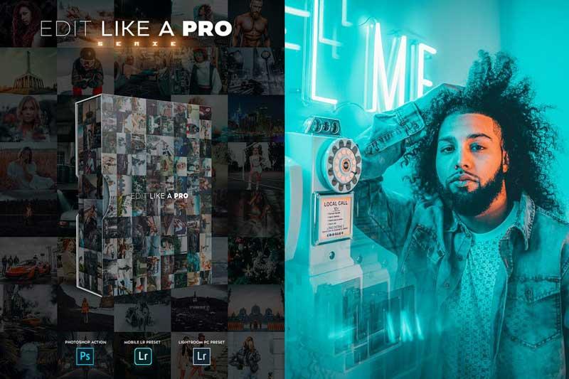 Edit Like A PRO 40th Photoshop Lightroom