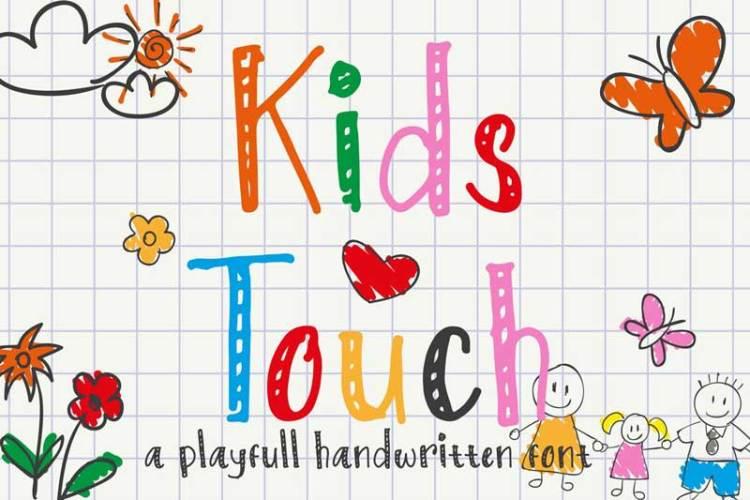 Kids Touch - Natural Handwritten Font