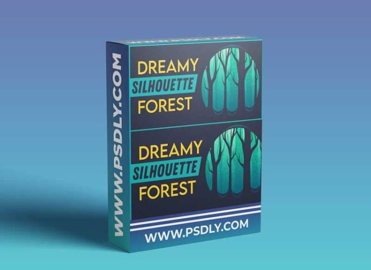 Making Dreamy Silhouette Forest in Adobe Illustrator