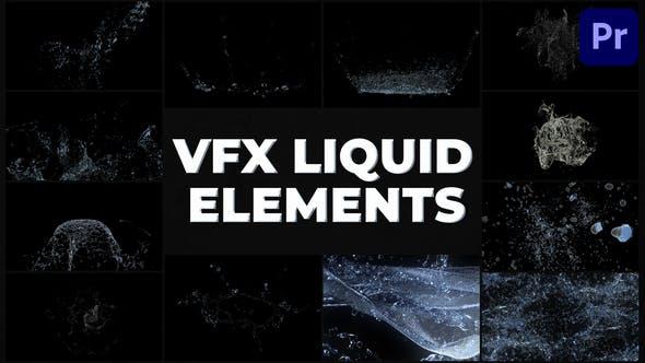Videohive VFX Liquid Pack Premiere Pro MOGRT 31300829