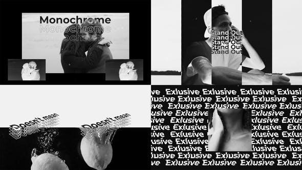 Videohive Monochrome opener 31150874