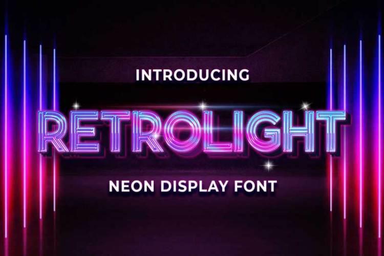Retrolight - Retro Neon Display