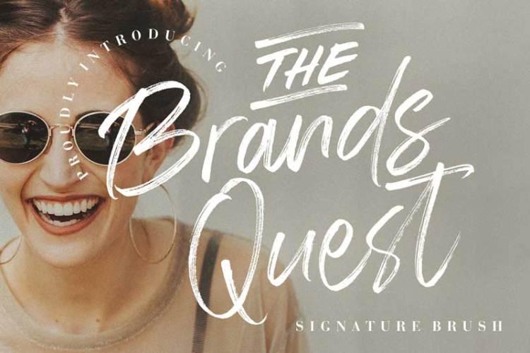 The Brands Quest Signature Brush
