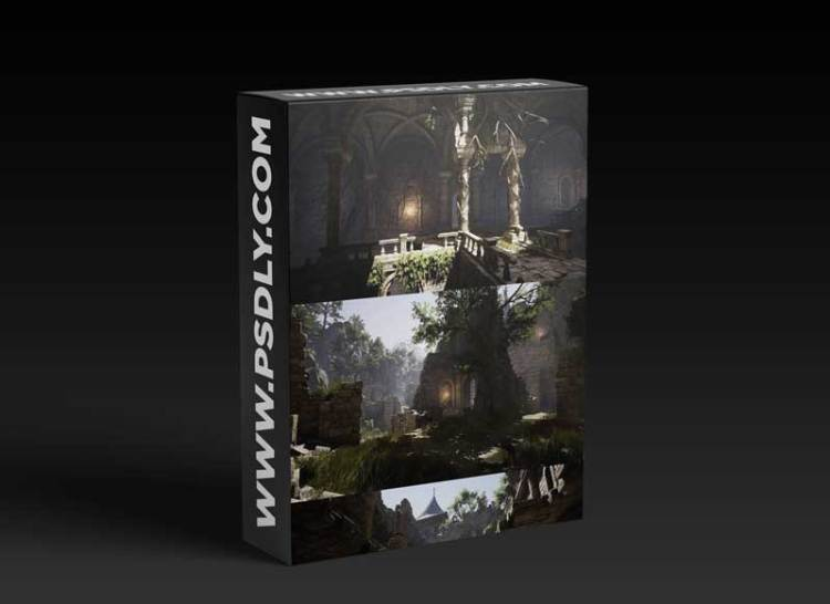 Unity Asset - Lordenfel Castles & Dungeons RPG pack