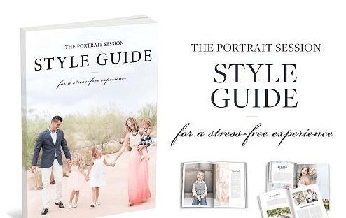 Amy & Jordan Portrait Session Style Guide Package