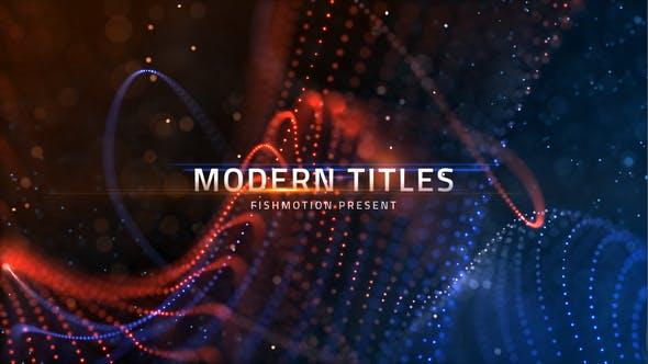 Videohive Modern Titles 22133303
