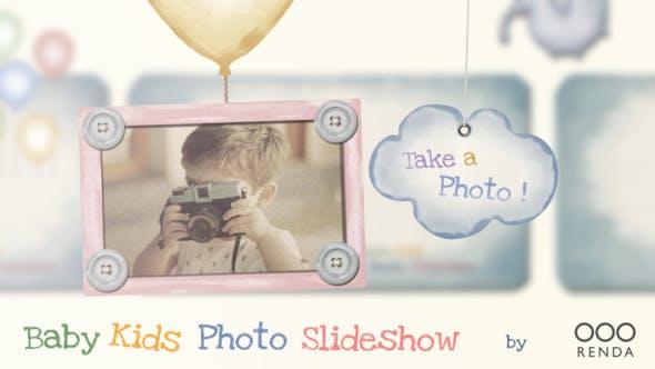 Videohive Baby Kids Photo Slideshow 22568248