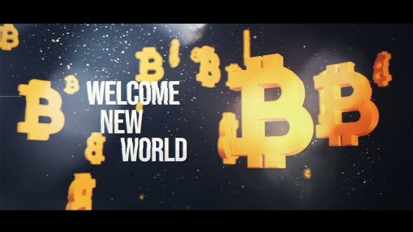 Videohive Bitcoin Titles 32354203