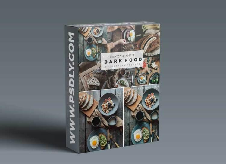 CreativeMarket - DARK FOOD LIGHTROOM PRESETS 6103752