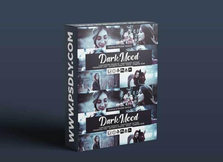 CreativeMarket - Dark Mood Lightroom Presets 5157026