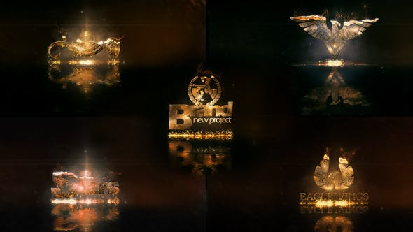 Videohive Hot And Gold Logo 22497351