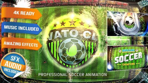 Videohive Soccer Logo Opener - Football Intro 15993628