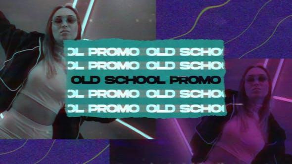 Videohive Old School Promo 33042810
