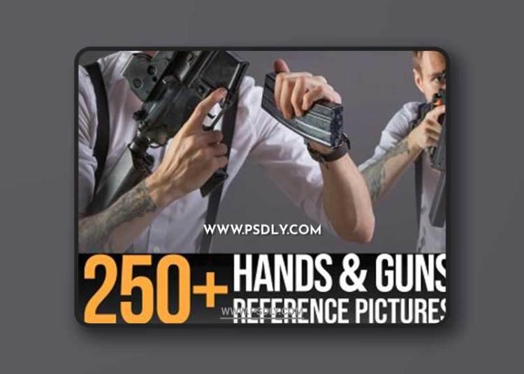 Artstation - 250+ Hands & Guns Reference Pictures