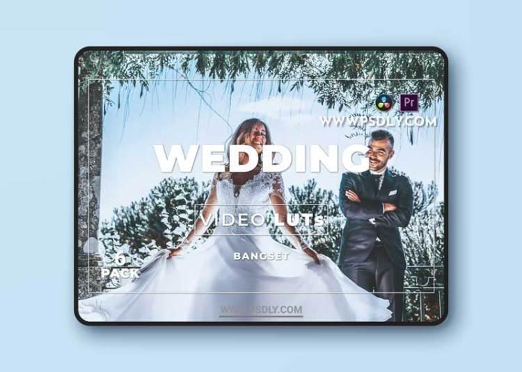 Bangset Wedding Pack 6 Video LUTs
