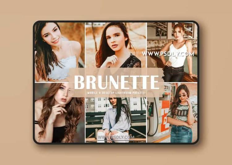 Brunette Mobile & Desktop Lightroom Presets