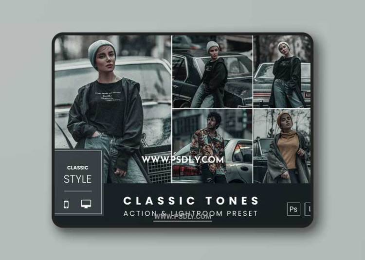 Classic Tones Action & Lightroom Preset