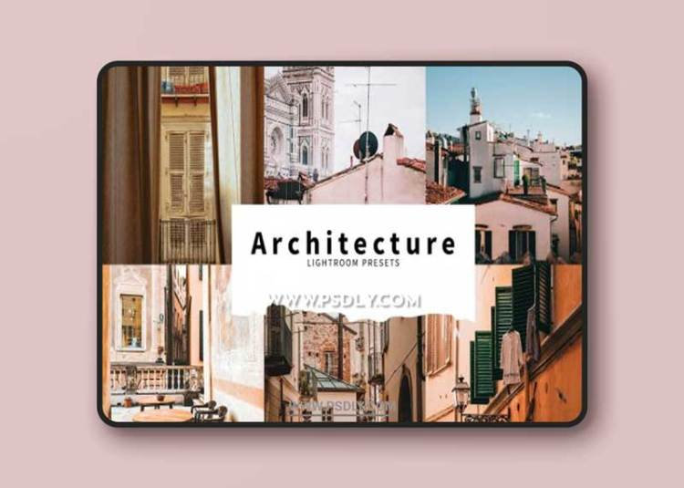 CreativeMarket - 10 Architecture Lightroom Presets 6076169