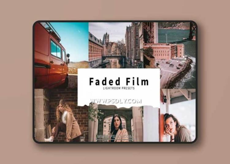 CreativeMarket - 10 Faded Film Lightroom Presets 6076164