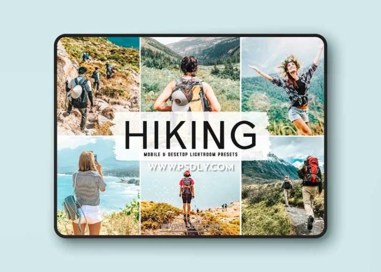 CreativeMarket - Hiking Pro Lightroom Presets 6283947