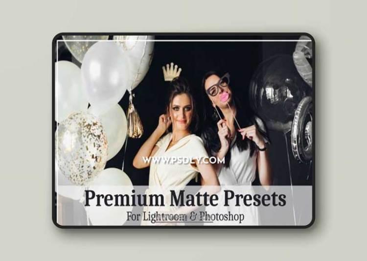 CreativeMarket - Premium Matte Presets 6252092