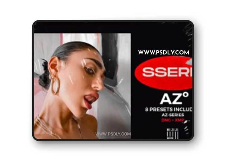 CreativeMarket - SSERIE-AZ Lightroom Presets 6249300