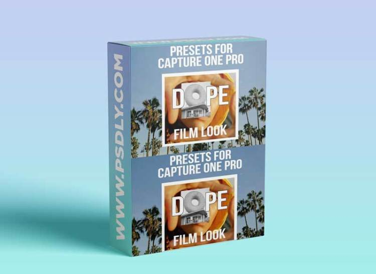 DOPE film look presets for Capture One