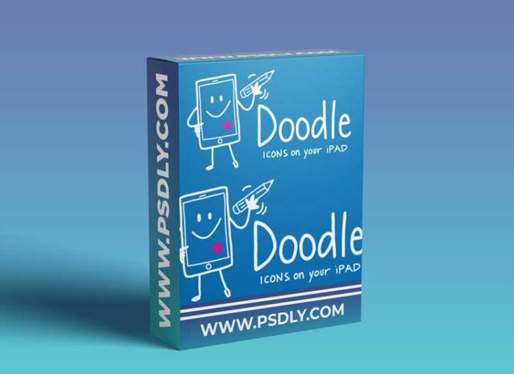 Doodle Icons - Create Hand Drawn Vector Icons Using Your iPad + Procreate