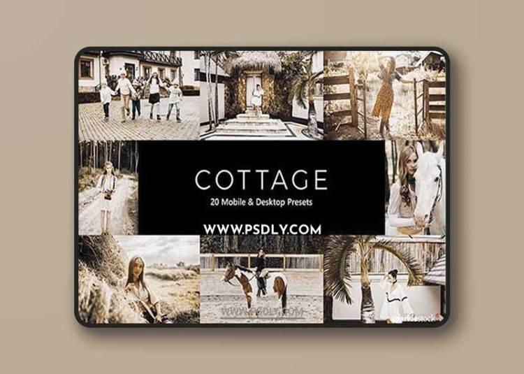 GraphicRiver - 20 Cottage Lightroom Presets & LUTs 28661718