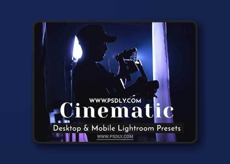 GraphicRiver - Cinematic Lightroom Presets - Desktop & Mobile 27990486