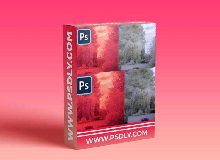 Infrared RAW Photography Post Processing in Photoshop CC 2021