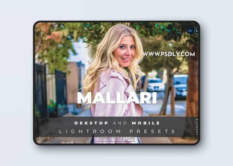 Mallari Desktop and Mobile Lightroom Preset