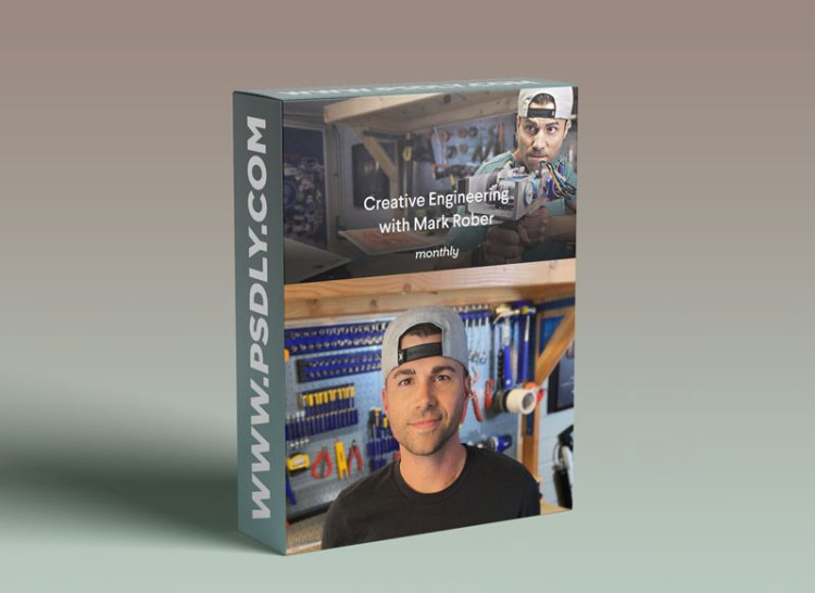 Monthly Mark Rober Creative Engineering Course