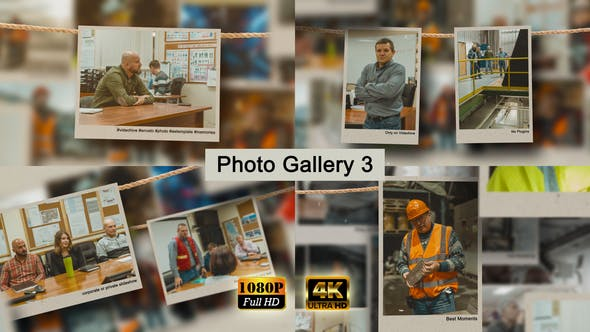 Videohive Photo Gallery 3 25036880