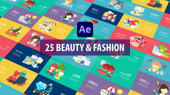 Videohive Beauty and Fashion Animation After Effects 33040739