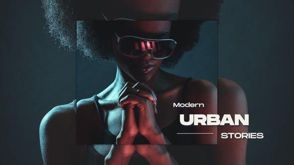 Videohive Modern Urban Stories 32489734
