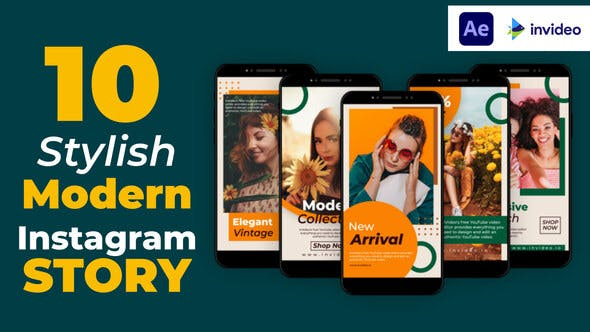 Videohive Stylish Modern Instagram Story 32928666