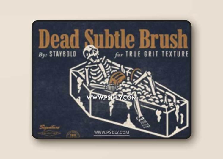 True Grit Texture Supply - Dead Subtle Brush Set