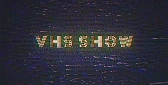 Videohive Vhs Show 19796902