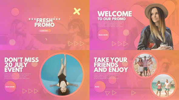 Videohive Fresh Promo 32771756