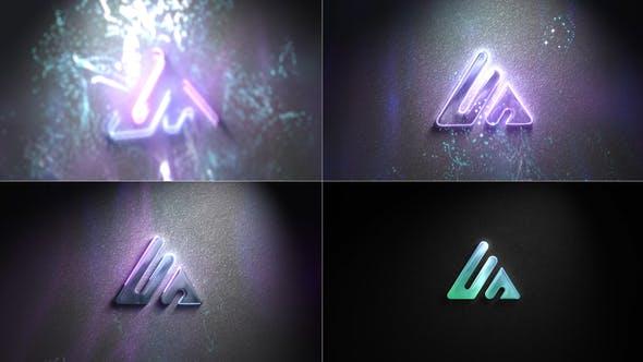 Videohive Wall Neon Logo 32901244