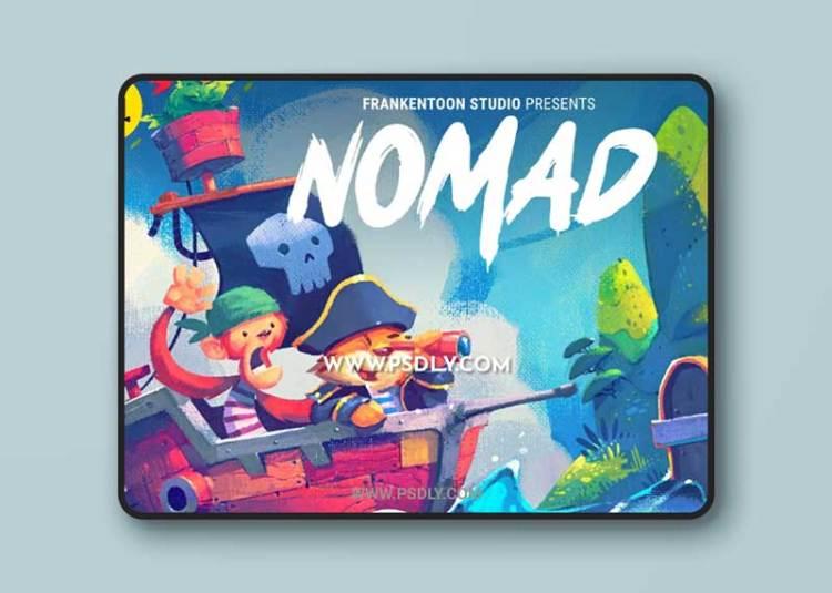 CreativeMarket - Nomad - Brush Pack for Procreate 2219423