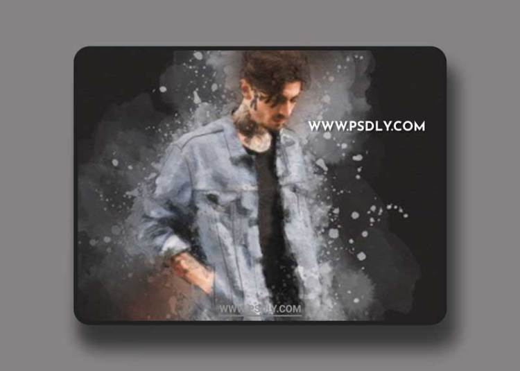GraphicRiver - Splash Art Photoshop Action 32826592