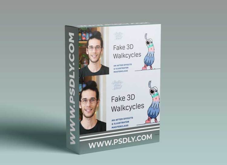 Motion Design School – Fake 3D Walkcycles in After Effects