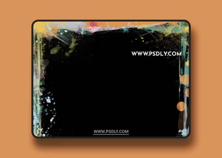 Paint Border Transparent PNG
