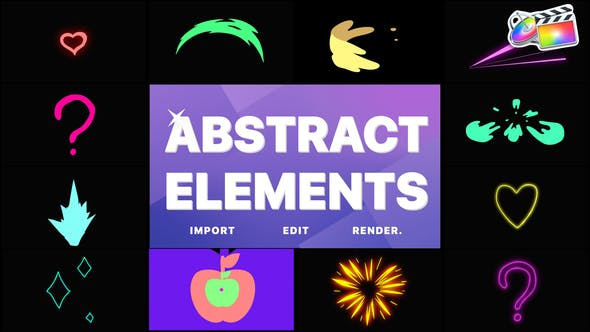 Videohive - Abstract Pack | FCPX - 33309355