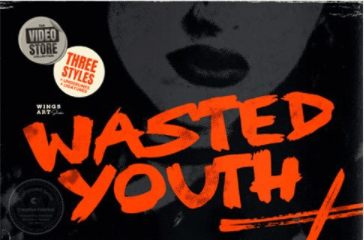 Wasted Youth Font