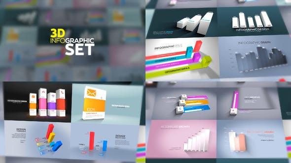 Videohive 3D Infographics Set 23635639