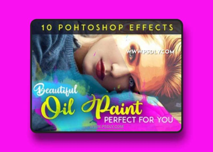 Beautiful Oil Paint Action